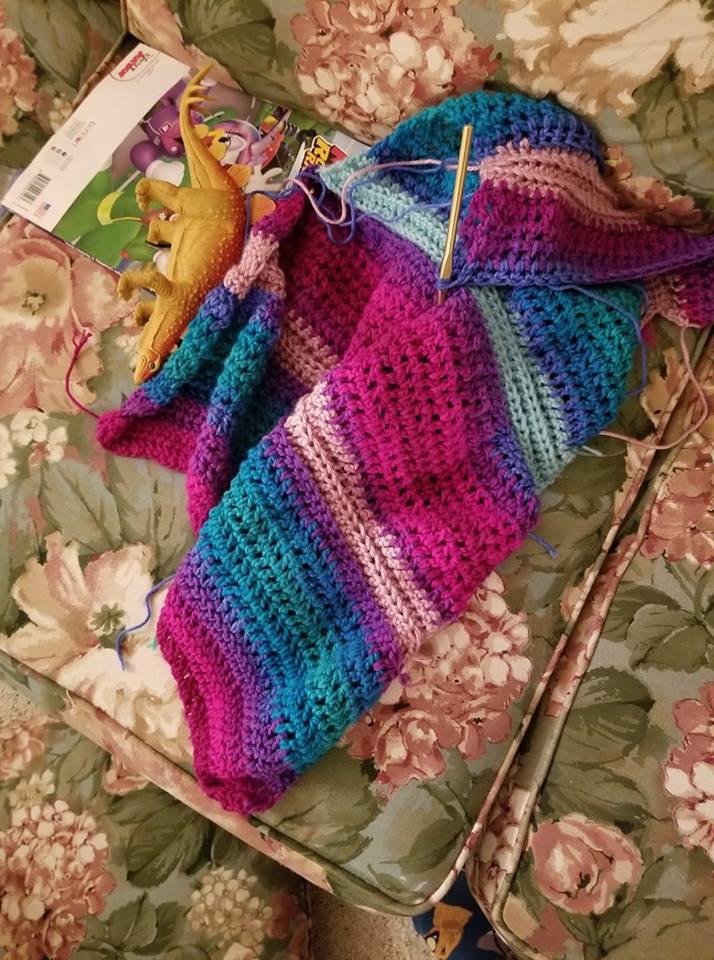 crochet scarf pic